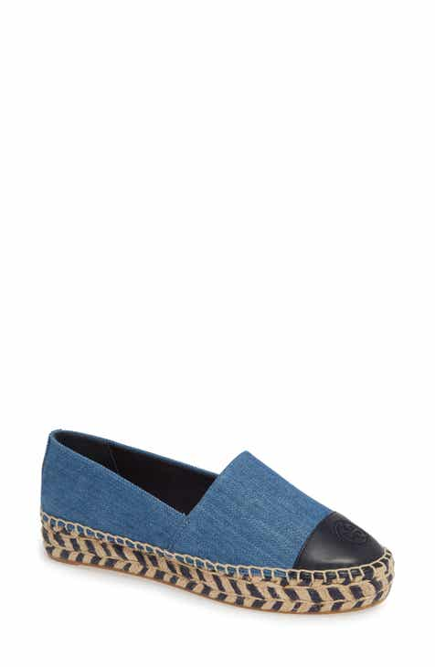 df8f7fe92672 Tory Burch Colorblock Platform Espadrille (Women)