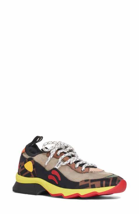 Fendi FFreedom Patchwork Sneaker (Women) da3f7f5f9b