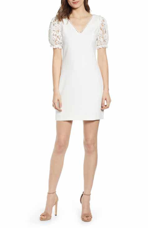 f00b6bb0026468 Endless Rose Lace Sleeve Minidress