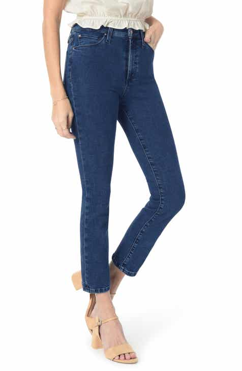 Joe's Flawless - The Milla High Waist Ankle Straight Leg Jeans (Mabry) by JOES