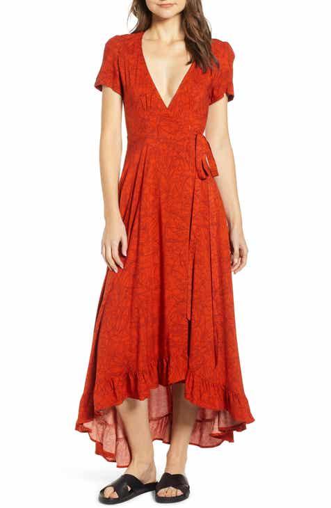 New Lira Clothing Daniella Floral Print Wrap Dress 2019 Coupon