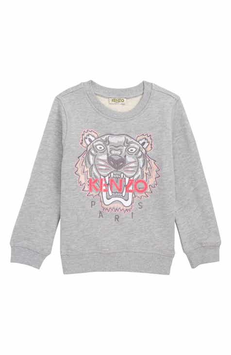 6ca7c882f KENZO Embroidered Tiger Sweatshirt (Little Girls & Big Girls)
