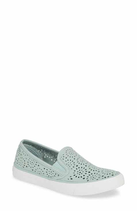 41cf5c7bbe01 Sperry Seaside Nautical Perforated Slip-On Sneaker (Women)
