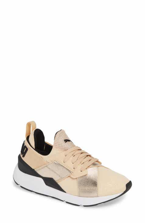 29f38215466 PUMA Muse Metallic Sneaker (Women)