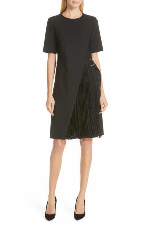 BOSS Dakilane Soft Stretch Wrap Dress by BOSS HUGO BOSS