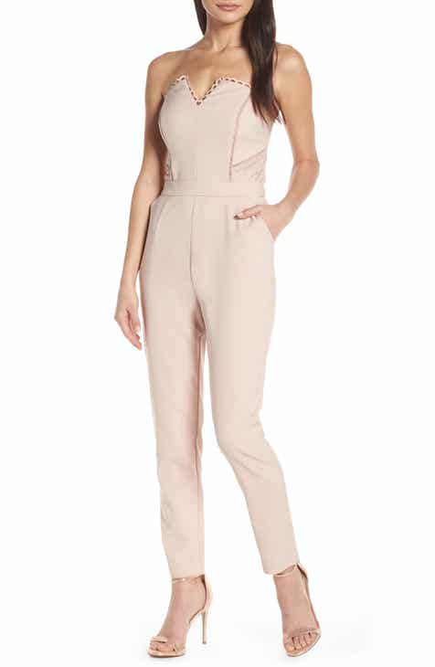 Harlyn Strapless Jumpsuit by HARLYN