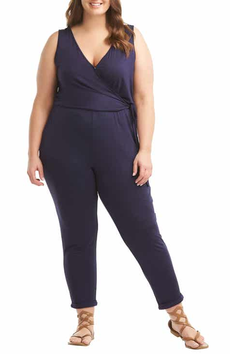 Lemon Tart Bettina Jumpsuit (Plus Size) by LEMON TART
