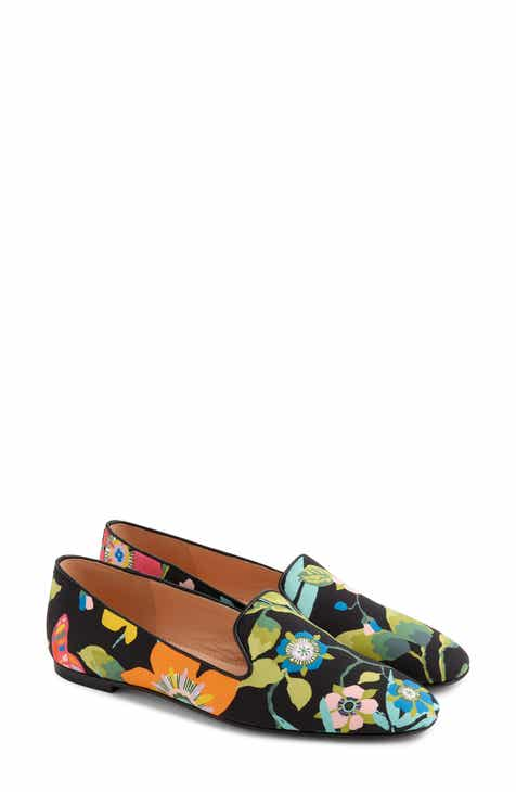 c879205d31e4f J.Crew Liberty® Floral Smoking Slipper (Women)