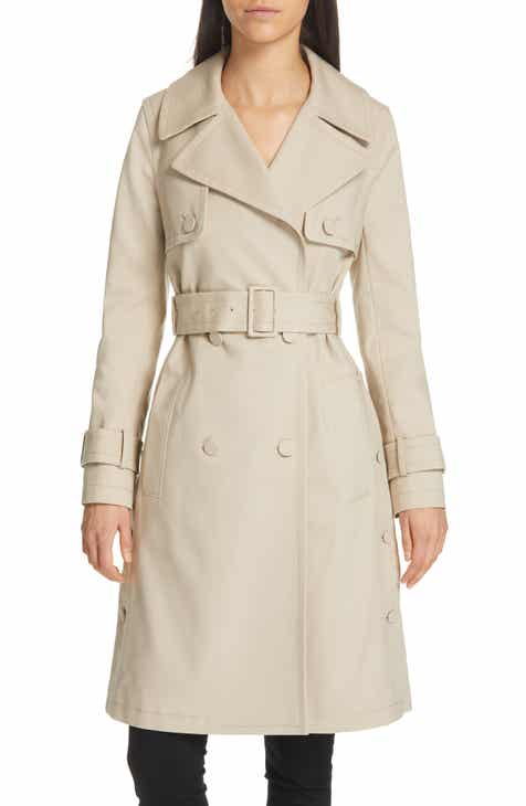 7bac1f5cc Club Monaco Janney Belted Trench Coat