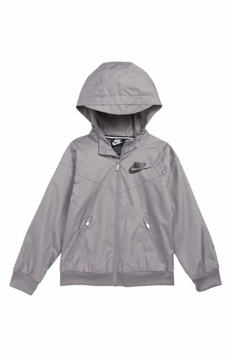 210d04cd34d5 Nike Windrunner Water Resistant Hooded Jacket (Toddler Boys   Little Boys)