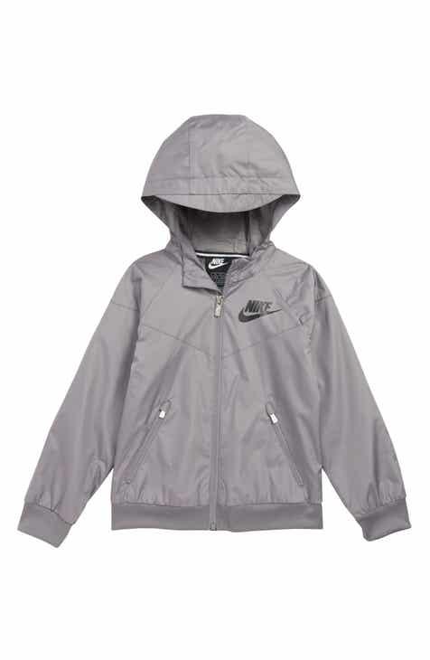 e2a596c0b62b Nike Windrunner Water Resistant Hooded Jacket (Toddler Boys   Little Boys)