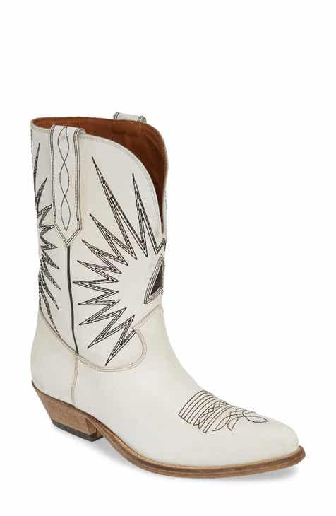 4399c8a4b3689 Golden Goose Wish Star Western Boot (Women)
