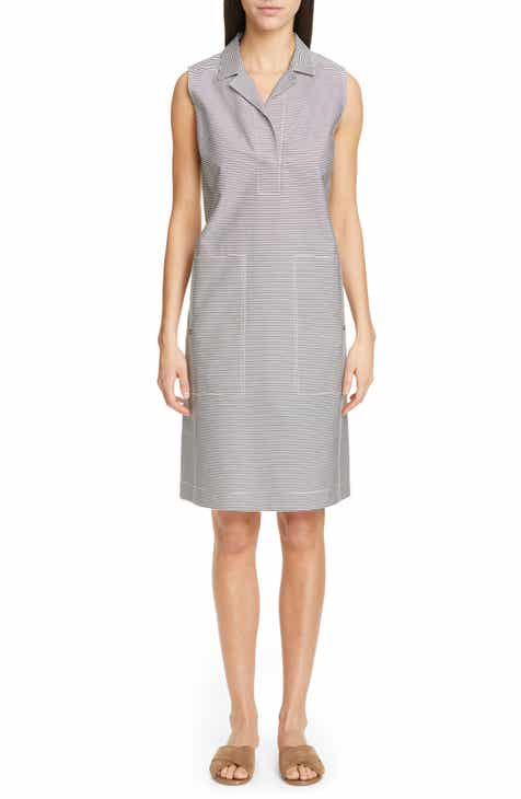 Lafayette 148 New York Rudy Stripe Shift Dress by LAFAYETTE 148