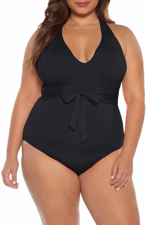 cbe81b575c9 Becca Etc. Color Code One-Piece Swimsuit (Plus Size)