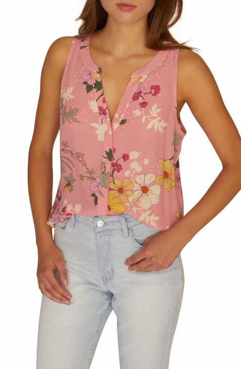 706716220e Sanctuary Craft Sleeveless Top (Regular   Petite)