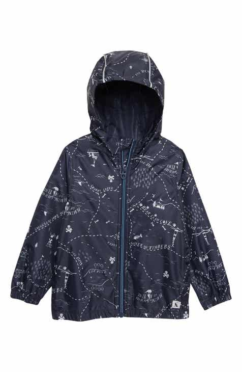 b9a877517a26 Joules Rainyday Waterproof Jacket (Toddler Boys   Little Boys)