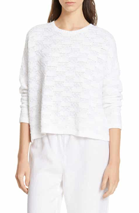 Eileen Fisher Milano Stitch Sweater (Regular & Petite) by EILEEN FISHER