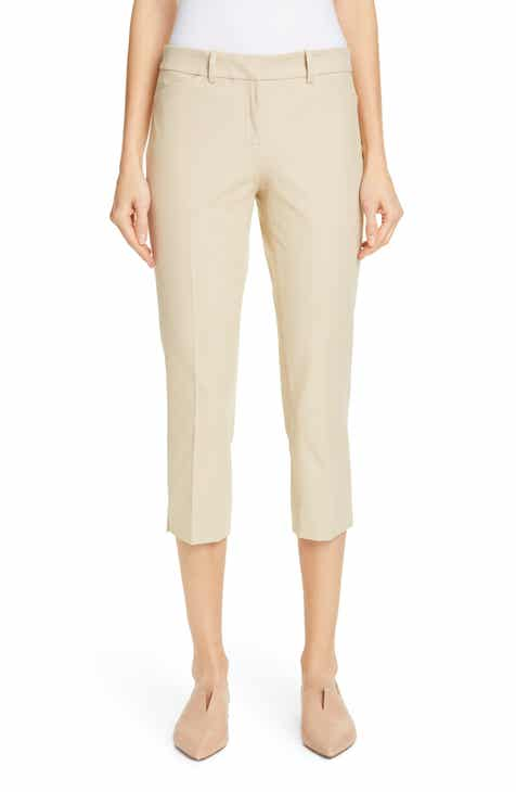 St. John Collection Emma Stretch Micro Ottoman Crop Pants by ST. JOHN COLLECTION