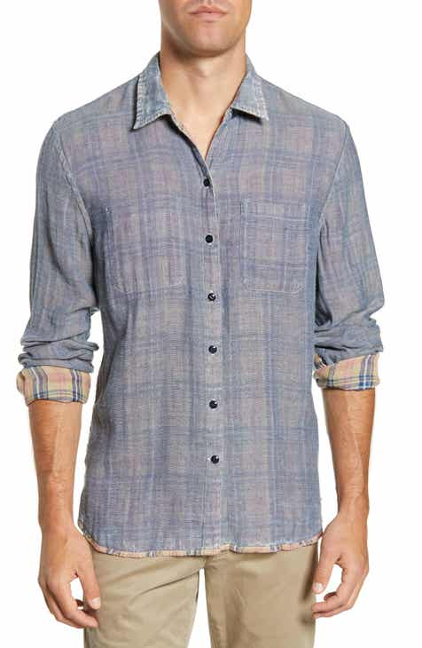 44e4149074 John Varvatos Star USA Neil Reversible Slim Fit Shirt