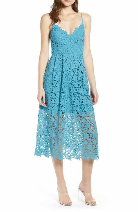 f86c926dab9 ASTR the Label Lace Midi Dress