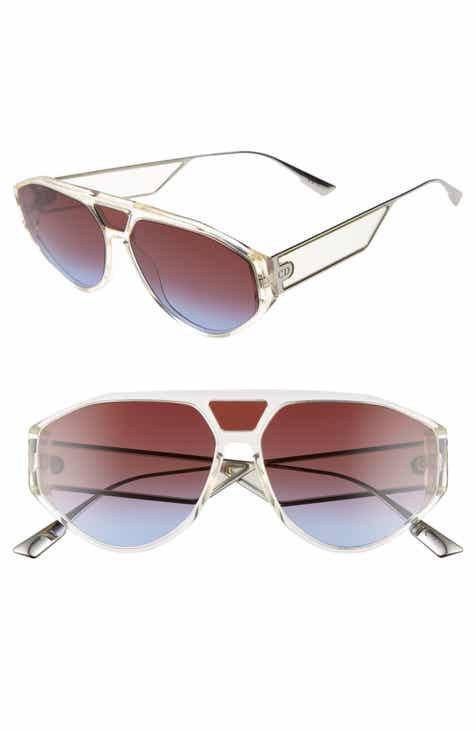 1a66b43a39ec5 Christian Dior 61mm Aviator Sunglasses