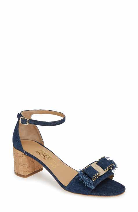 531d983c4071c8 Salvatore Ferragamo Gavina Ankle Strap Sandal (Women)
