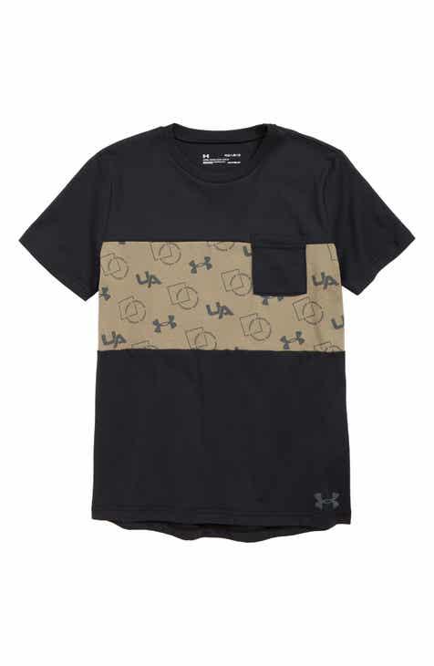 buy online 051e4 71138 Under Armour Sportstyle HeatGear® Pocket T-Shirt (Big Boys)