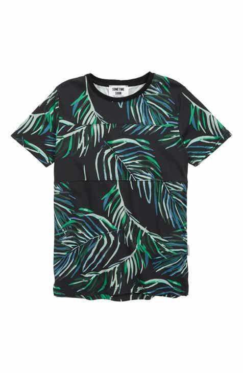 Sometime Soon Fowler Organic Cotton T-Shirt (Big Boys)