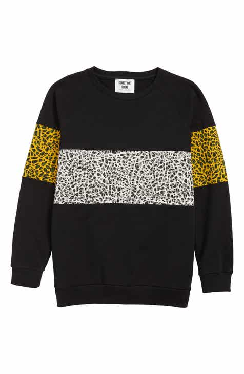 Sometime Soon Delano Organic Cotton Sweatshirt (Big Boys)