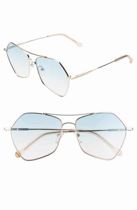 1867b047426 Seafolly Halloways 58mm Aviator Sunglasses