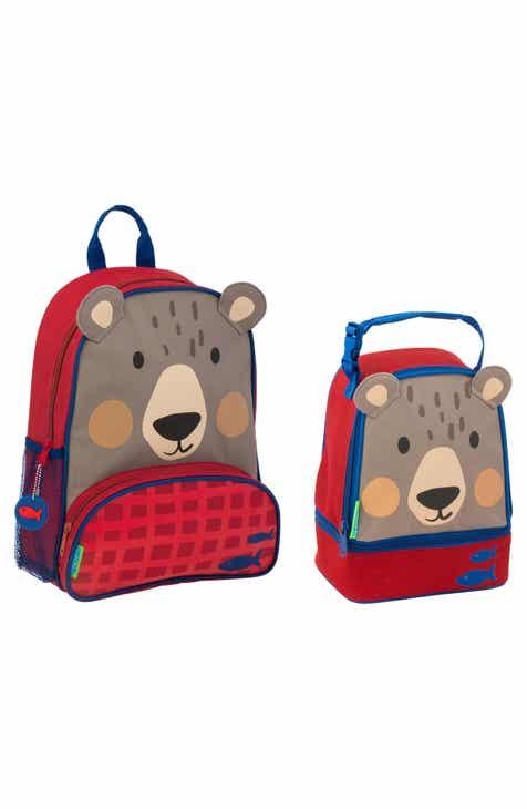 7ef69aef89 Stephen Joseph Bear Sidekick Backpack   Lunch Pal (Kids)