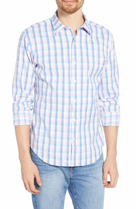 eefff24a2d2 Bonobos Slim Fit Tech Check Sport Shirt