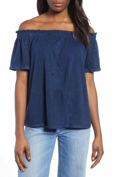 3948eadf21d6b Bobeau Carlee Off the Shoulder Top