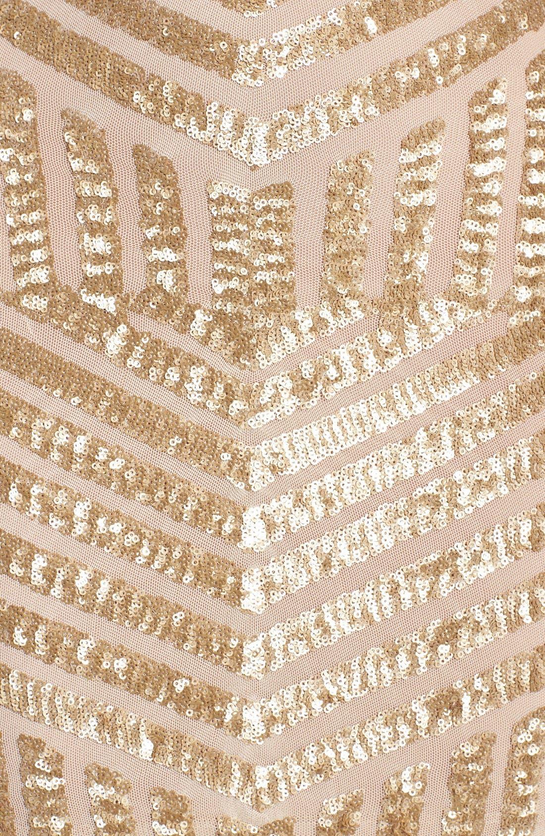 Alternate Image 3  - Dress the Population Tabitha Sequin Minidress