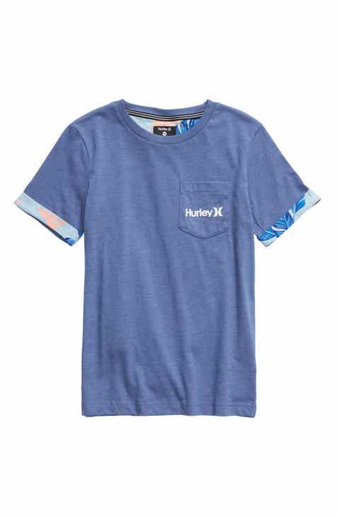 7cd5688c6635 Hurley Paradise Cuff Pocket T-Shirt (Big Boys)