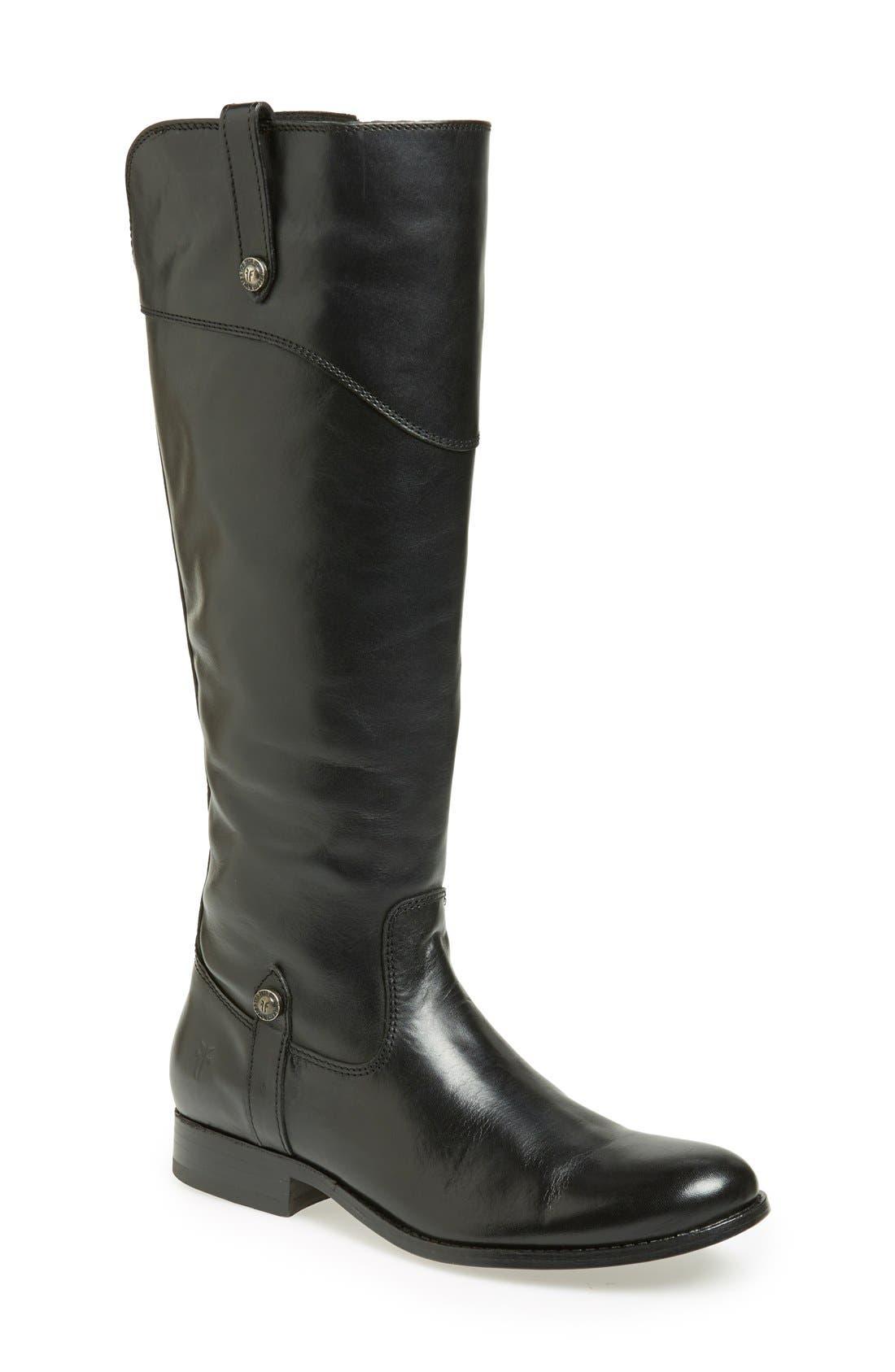 Main Image - Frye 'Melissa Tab' Knee High Boot (Women)