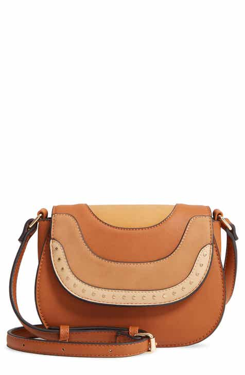 44fa48c1812 Sole Society Elyhn Faux Leather Crossbody Bag