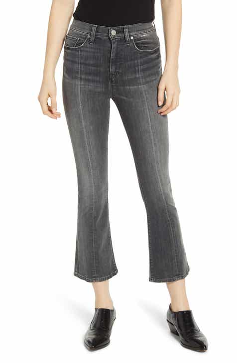 Mavi Jeans Tess High Waist Raw Ankle Skinny Jeans (Indigo Blocking) by MAVI