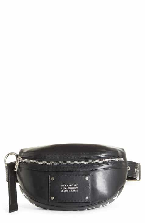 d58756f80d Givenchy Logo Leather Belt Bag