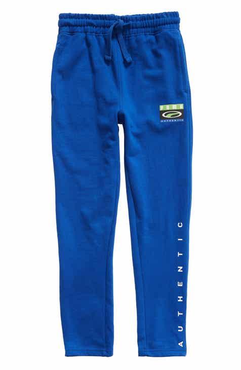 3754fff85121 PUMA Cotton Fleece Tapered Pants (Little Boys   Big Boys)
