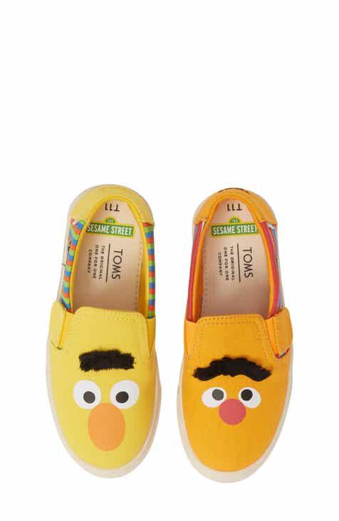 fe241bfbaaf TOMS x Sesame Street® Luca - Ernie   Bert Slip-On Sneaker (Baby
