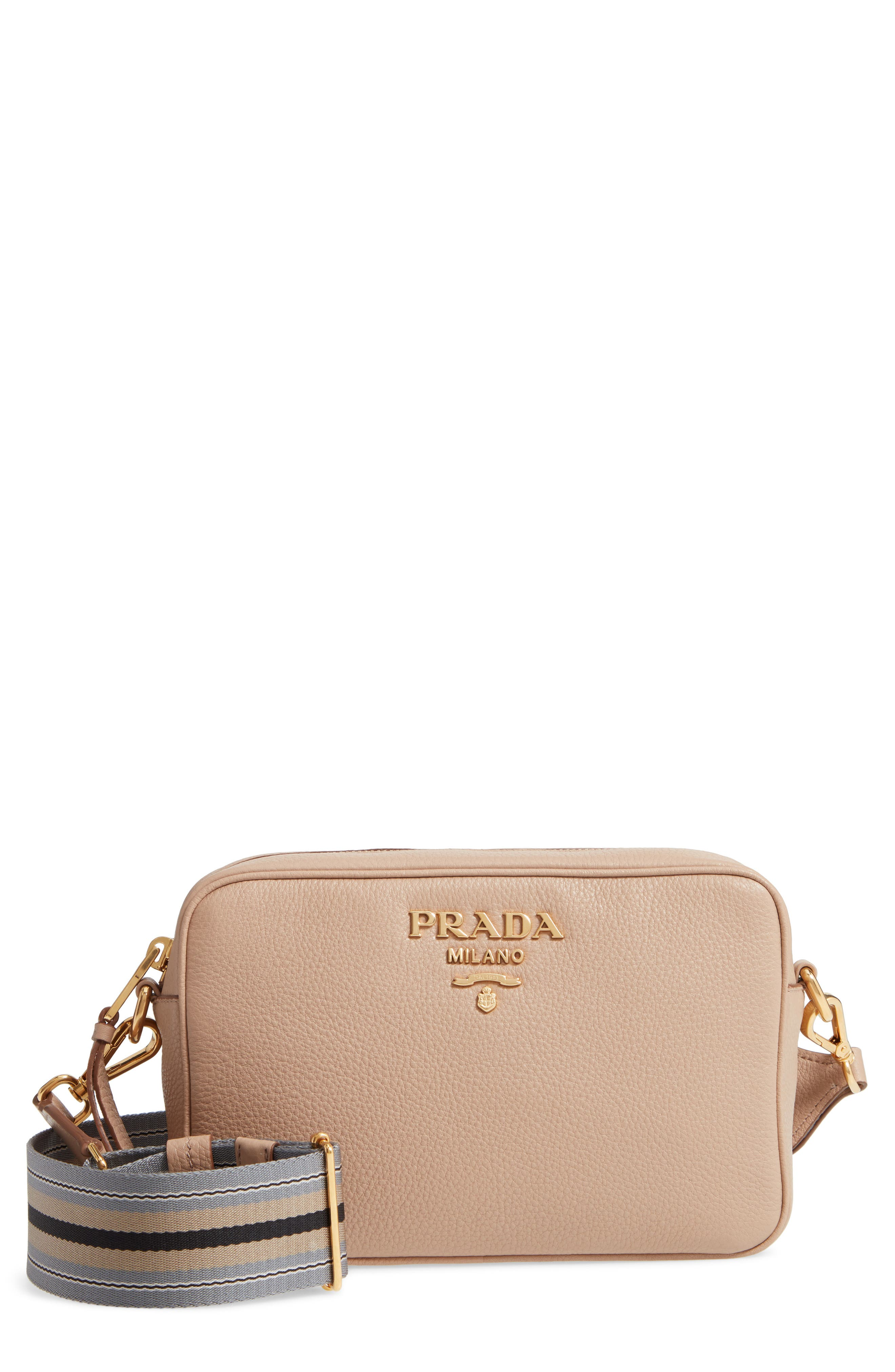 56c981943204d7 ... coupon code for prada vitello daino leather camera bag abf3c bc710