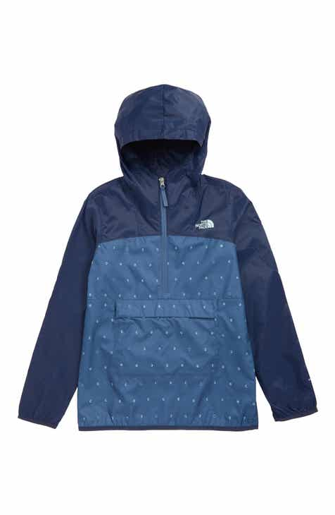c7b60ca53 The North Face Fanorak Water Repellent Windbreaker (Big Boys)