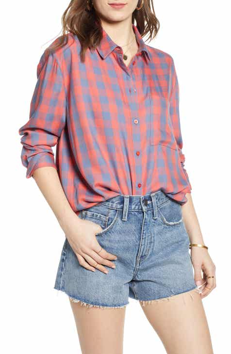 fc9d57c85d16e Treasure   Bond Lightweight Boyfriend Shirt