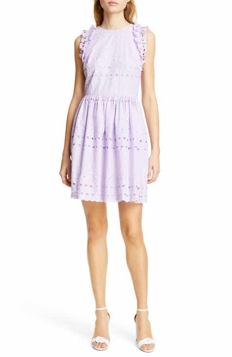 e573fb65e36 kate spade new york eyelet fit   flare dress