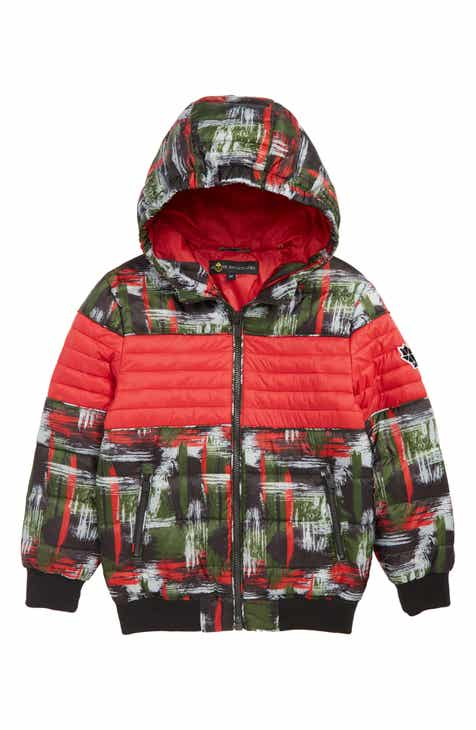 d08679d3d Moose Knuckles Peel Quilted Hooded Jacket (Little Boys & Big Boys)