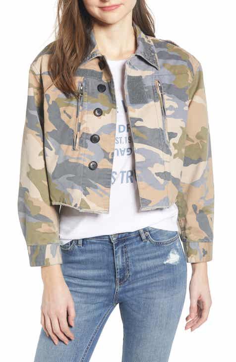 7262f1f7ebc9b1 Zadig   Voltaire Camouflage Crop Jacket