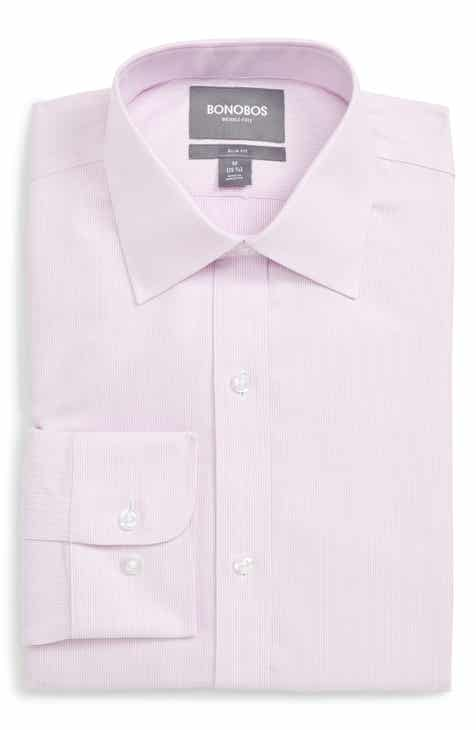 Bonobos Slim Fit Solid Dress Shirt