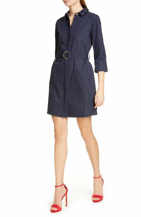 Ted Baker London Salat Denim Shirtdress
