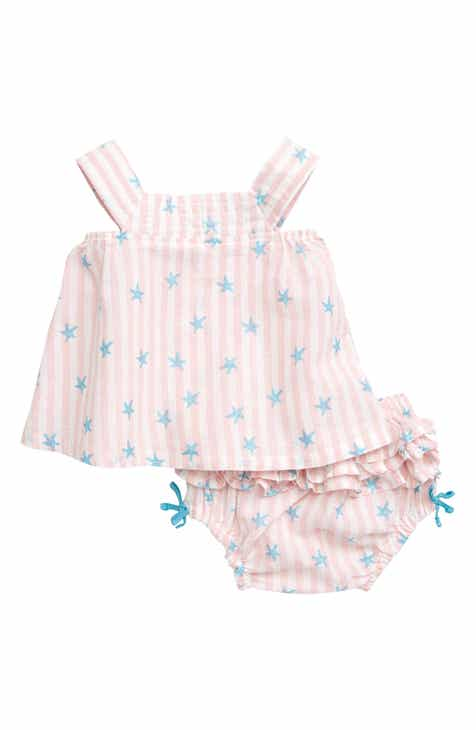 0df85d97205 Hatley Glitter Starfish Stripe Top   Ruffled Bloomers Set (Baby).  36.00.  Product Image